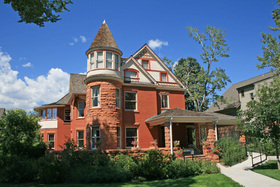 The 1892 Lindley Johnson Vanderhoof House, Located On The Campus Of Colorado  College, Is Significant For Its Architecture As An Excellent Example Of The  ...
